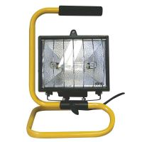 halogen reflector, with holder cable 1.5 m, 500 W, 230 V