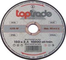 cutting disc,metal,125 x 22,2 x 2,5 mm,hobby
