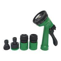 gun sprayer, plastic,quic connector,4 functions, set 5 pcs