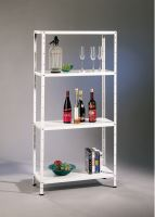 rack, metal folding shelf load 30 kg, 1500 x 750 x 300 mm