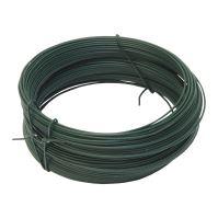 binding wire, plastic-coated, green, O 0,9 (0,65) mm / 30 m