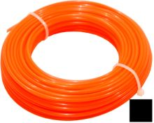 string for trimmer,plastic,square cross-section,1,3mmx15m