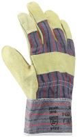 working gloves,leather, ZORO, standard, size 10,5