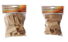 tiling wedge,wood,package 51 pcs,55x20x10-5mm