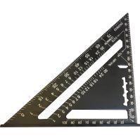 carpenter's triangle, aluminum, 180 mm