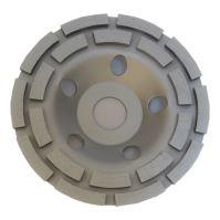 diamond wheel, grinding, double row, 125 x 22.2 mm