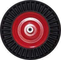 spare wheel, bantam, red