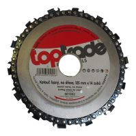 cutting disc, chain, for wood, for angle grinder, 125 mm x 14 teeth