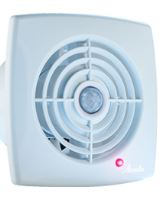 axial fan RETIS WR,white,timer,220 V, 175m3/hod., 172 x 172 mm, outlet O 125 mm
