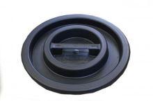 lid on the barrel, black, 100 l, 120 l