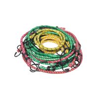 rubber rope,clamping,small hooks,O 10 mm, set 12pcs,  á 2pcs 30, 45, 60, 76, 90, 130 cm
