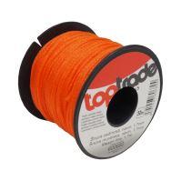 mason's cord, PE, 1,7 mm x 50 m, orange