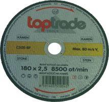 cutting disc,stone ,180 x 22,2 x 2,5 mm,profi