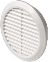 ventilation grille, plastic, round, O 158 / 125 mm