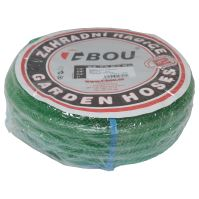 "garden hose transparent,green, 1"",15m"