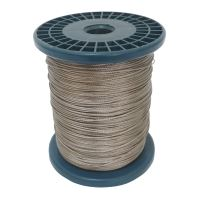 stainless steel rope ,on reel 7 x 7 wires, O 2 mm x 200 m