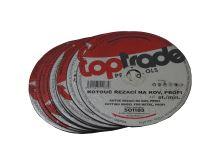 cutting disc,metal, 400 x 22,2 x 1 mm, profi