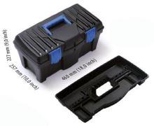 box, plastic,for tools,Caliber, 400 x 200 x 186 mm