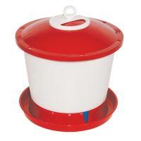 drinking basin  for chicken, float, plastic, 9,0 l