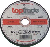 grindstone,metal,125 x 22,2 x 6,5 mm,standard
