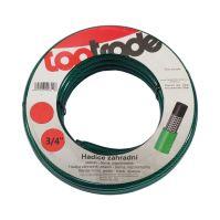 """garden hose, green - black, opaque, 3/4"""", 15 m"""
