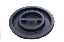 lid on the barrel, black, 50 l, 65 l