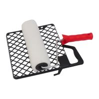set Vestan, polyester knitted, with the roll holder and grille, 250 mm /O 6 mm