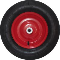 spare wheel, inflatable, red