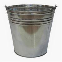 bucket,galvanized,15l