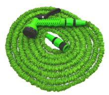 garden hose, flexible, plastic gun - sprayer, 7 function ,set, 5 / 15 m