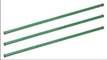 fence post, iron, green, 2,5 m