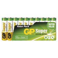 batteries GP Super, LR06,AA,10 pcs set,1,5 V