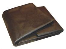 fabric, nonwoven , black, 1,6 x 5 m, 45 g / m2