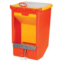 feeder ,suspension,hopper and cover, 3 l