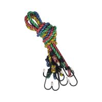 rubber rope,clamping,small hooks,set 4 ks,  O  10 mm x 80 cm