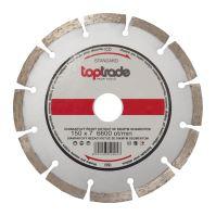 diamond disc, segmented,150 x 22,2 x 7 mm,standard