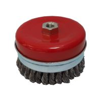 brush steel,type cup,plait,M14, O 80 mm