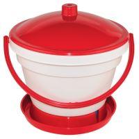 drinking basin  for chicken, float, plastic, 12,0 l