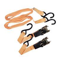 belt,clamping,hooks,ratchet,set 2 pcs, to 700kg, 25 mm x 4,5 m