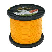 string for trimmer,plastic,circular cross-section,2,4mmx262m