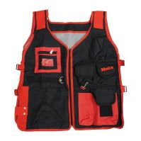 vest trouble-shooters, cloth, with pockets