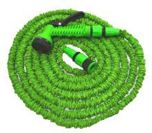 garden hose, flexible, plastic gun - sprayer, 7 function ,set, 7,5 / 22 m