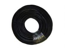 leveling hose, rubber, black, 100 m