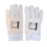 gloves PERCY, leather, size 10