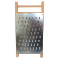 beet grater, with wooden frame, 44 x 22 cm