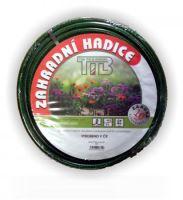 """garden hose, not transparent, green, black inner tube, 1"""",50m"""