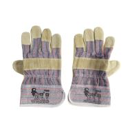 gloves ZORO, leather, standard, size 10,5