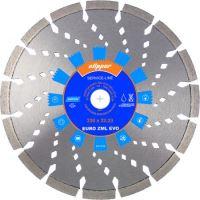 diamond disc,EURO ZML EVO, 125 x 22,23 x 2,2 mm