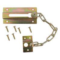 door chain, nickel, safety, 75 mm