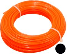 string for trimmer,plastic,circular cross-section,2,4mmx15m